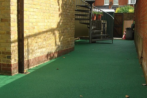 Glenco Civil Engineers, London, Rubberised Safety Surfaces
